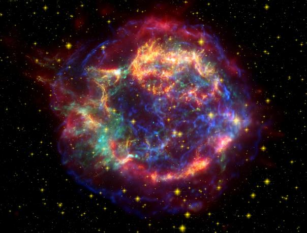 Cassiopeia, image courtesy of Wikipedia.